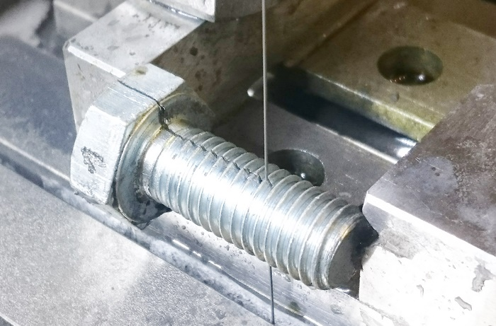 Samples Cutting(Special Screw)