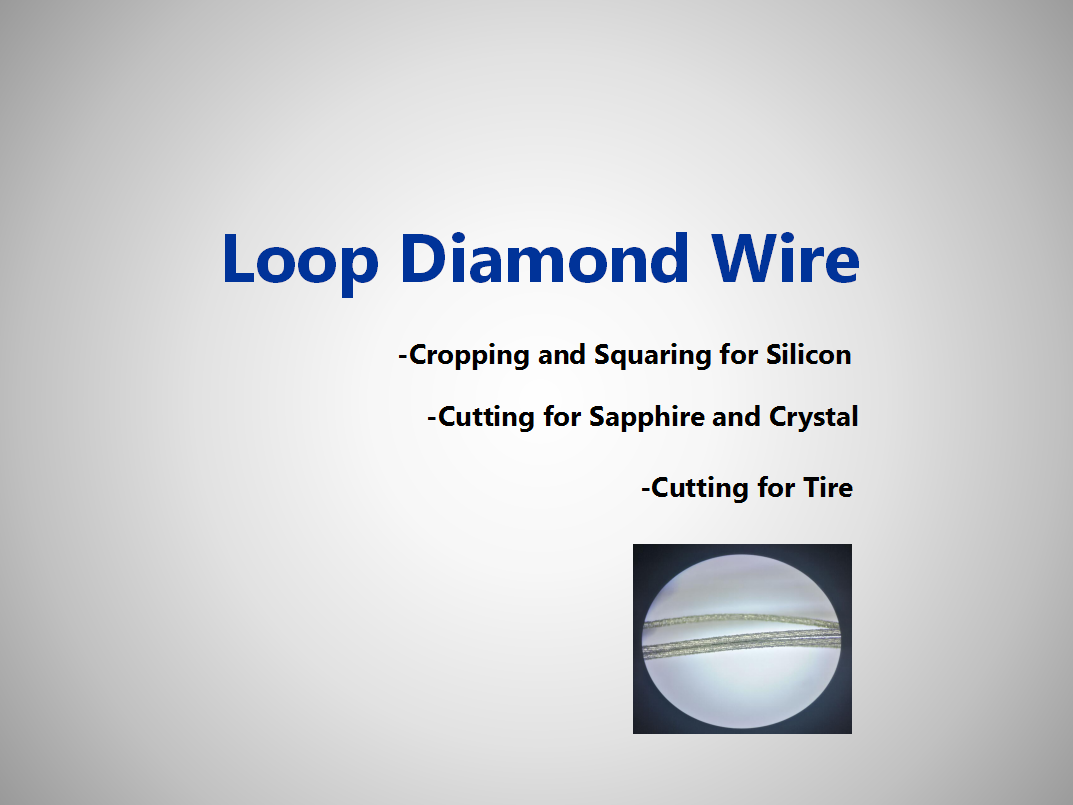 Loop Diamond Wire Flyer